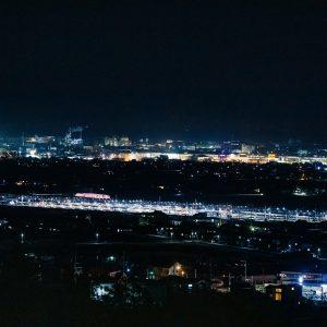 南伊予駅夜景